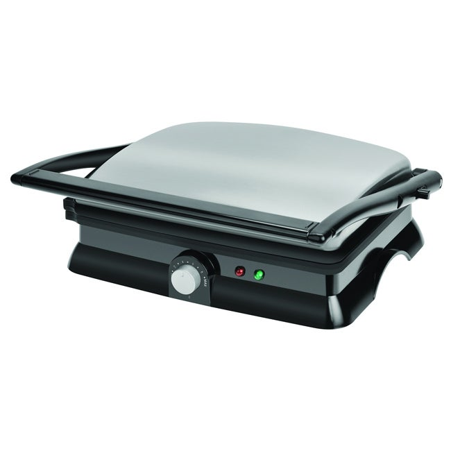 Kalorik Stainless Steel Panini Maker- Refurbished