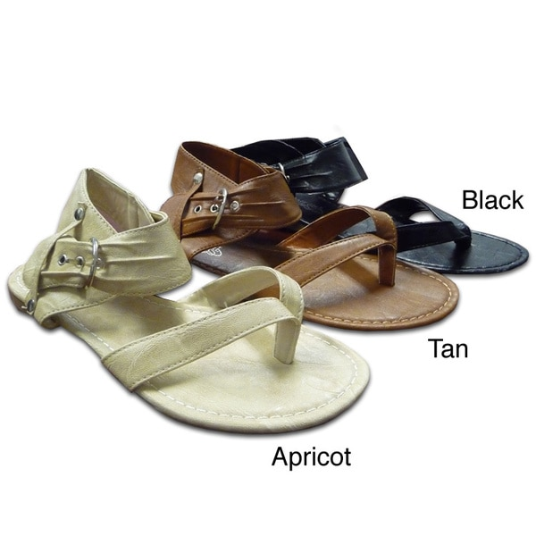 I-Comfort Women's Slouchy Thong Sandals