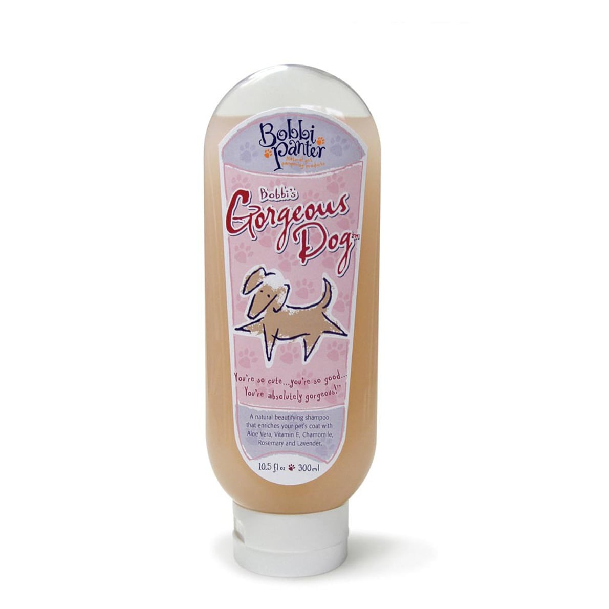 Bobbi Panter Gorgeous Dog 10-ounce Shampoo with Peach Fragrance