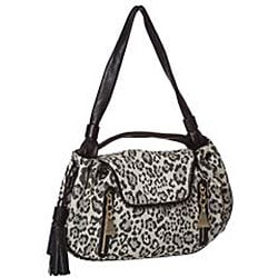 See by Chloe Leopard Canvas/ Leather Satchel - Thumbnail 1