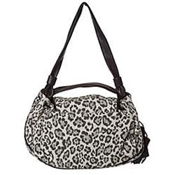 See by Chloe Leopard Canvas/ Leather Satchel - Thumbnail 2
