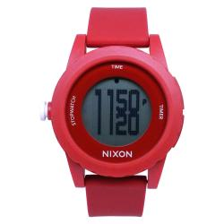 Nixon Men's Red Genie Watch