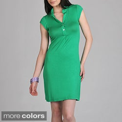 24/7 Comfort Apparel Women's Polo Dress