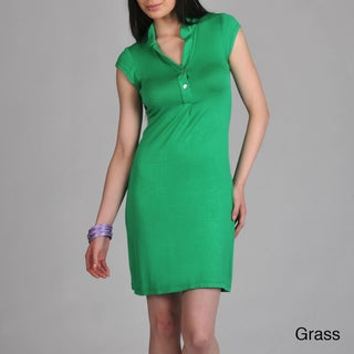 24/7 Comfort Apparel Women's Polo Dress