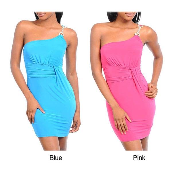 Stanzino Women's Single Shoulder Dress