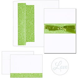 Olive Band Invitation Kit