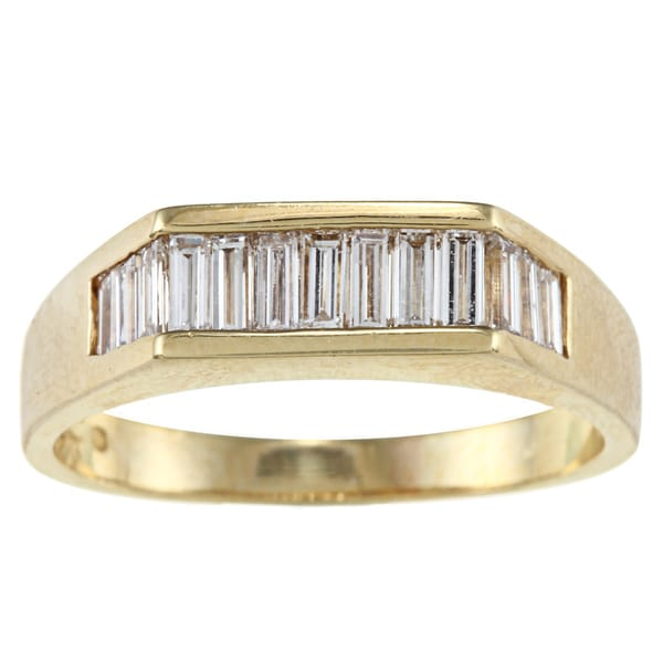 18k Yellow Gold 4/5ct TDW Estate Ring (G-H, VS1-VS2) (Size 9)