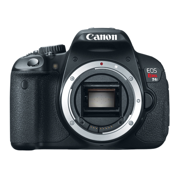 Canon EOS Rebel T4i 18MP Black Digital SLR Camera (Body Only)