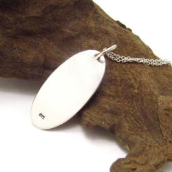 Handmade 'If You Can Read This You Are Standing Too Close' Sterling Silver Necklace (Thailand)