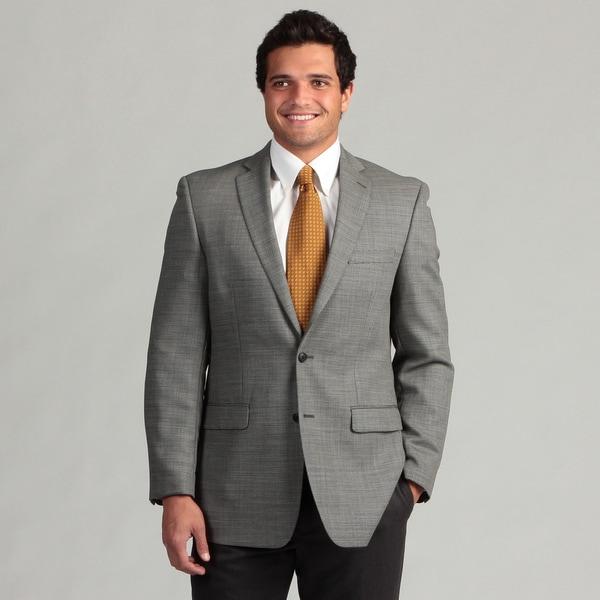 Calvin Klein Men's Notch Lapel 2-button Wool Sport Coat
