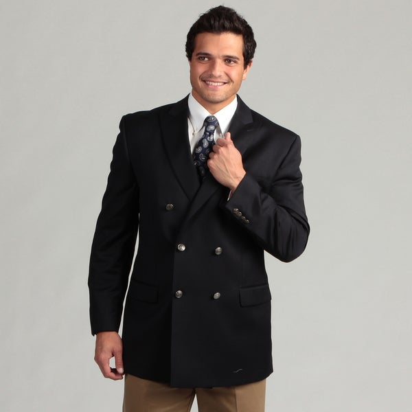 MICHAEL Michael Kors Men's Double Breasted Wool Sport Coat