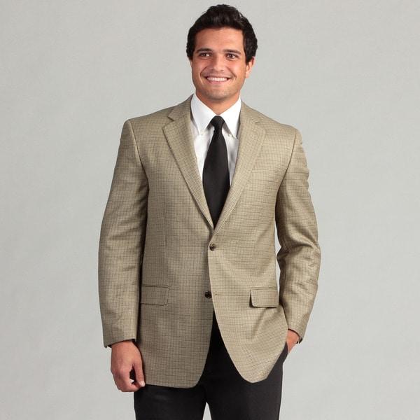 MICHAEL Michael Kors Men's 2-button Silk/Wool Blend Sport Coat FINAL SALE