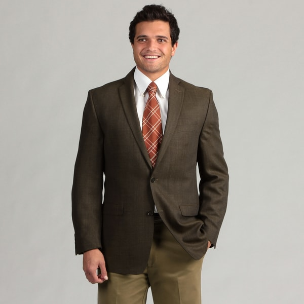 Calvin Klein Men's 2-button Wool Sport Coat