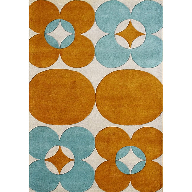 Alliyah Hand Made Tufted Banana Crepe Blend Wool Rug (8' x 10')