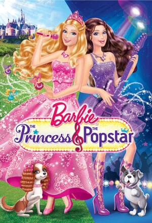 Barbie: The Princess & The Popstar (DVD)