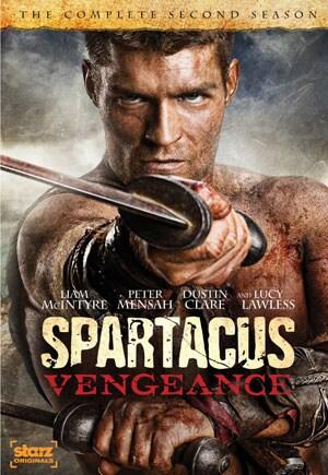 Spartacus: Vengeance - Complete Second Season (DVD)