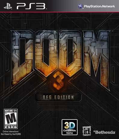 PS3 - Doom 3 BFG Edition