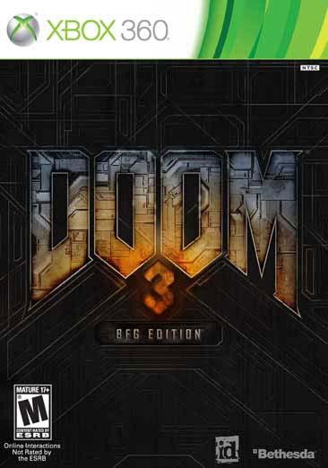 Xbox 360 - Doom 3 BFG Edition