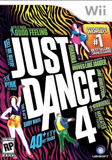 Wii - Just Dance 4 - Thumbnail 0