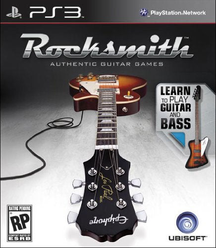 PS3 - Rocksmith Guitar and Bass