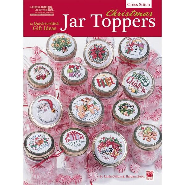 Leisure Arts-Christmas Jar Toppers