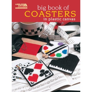 Leisure Arts-Big Book Of Coasters In Plastic Canvas