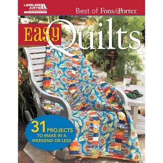 Leisure Arts-Best Of Fons & Porter: Easy Quilts