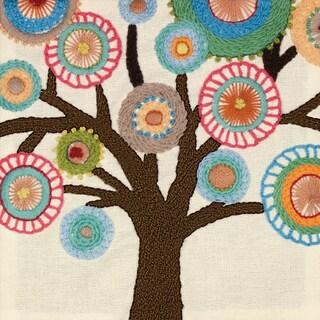 "Handmade Collection Tree Crewel Embroidery Kit-10""X10"""