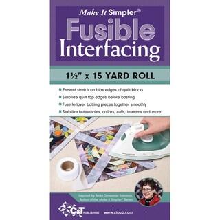"Make It Simpler Fusible Interfacing-1-1/2""X15 Yards"