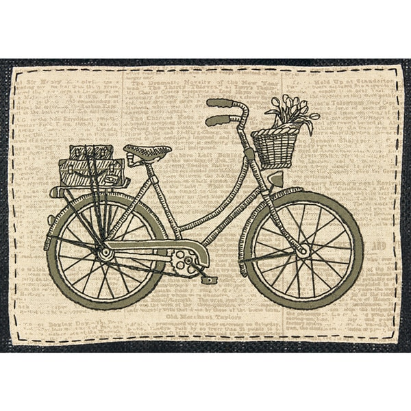 Shop Handmade Collection Classic Bicycle Stamped Embroidery Kit 11