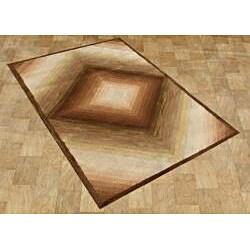 Alliyah Handmade Sand New Zealand Blend Wool Rug (5' x 8') - Thumbnail 1