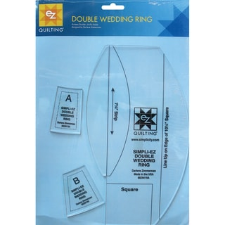 Double Wedding Ring Template-3 Pieces
