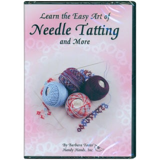 Learn The Easy Art of Needle Tatting - DVD-45 Minutes