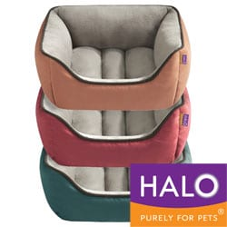 HALO 2 Colored Unisuede Reversible Rectangular Cuddler