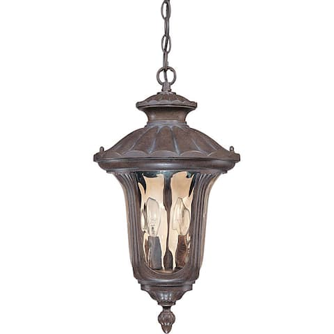 Beaumont 2-light Fruitwood Hanging Lantern