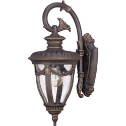 Philippe Arm Down 1-light Belgium Bronze Wall Sconce