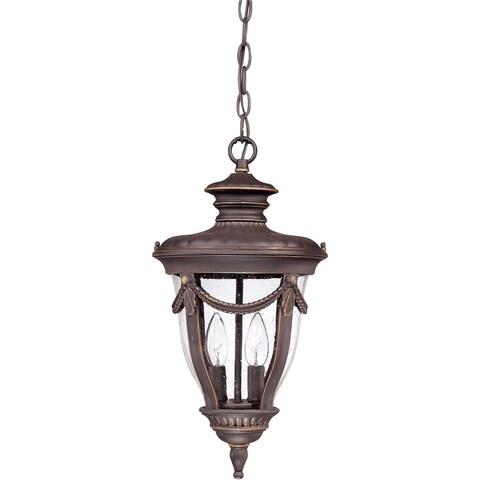 Philippe 2-light Belgium Bronze Hanging Lantern