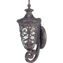 Aston Arm Up 1-light Dark Plum Bronze Wall Sconce