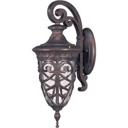 Aston Arm Down 1-light Dark Plum Bronze Wall Sconce