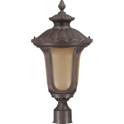 Beaumont 1 Light Fruitwood Post Lantern