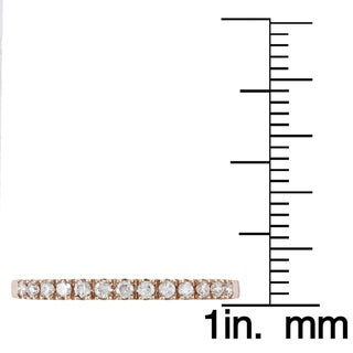 Victoria Kay 14k Gold 1/5ct TDW Round-cut White Diamond Band (I-J, I1-I2)