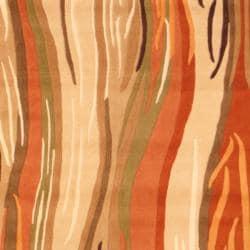 Herat Oriental Indo Hand-tufted Wool Rug (8' x 10')