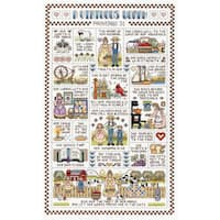 """A Virtuous Woman Counted Cross Stitch Kit-9-1/4""""X15-1/4"""" 14 Count"""