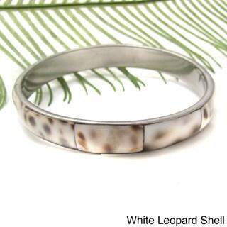 Genuine Shell Warp Stainless Steel Bracelet (Philippines)