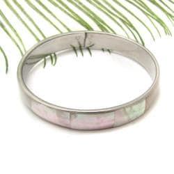 Handmade Nature's Promise Natural Ivory Shell Link Bracelet (Philippines)