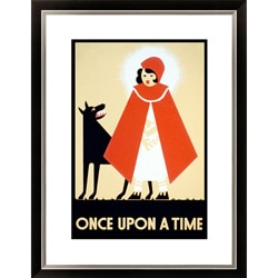Gallery Direct 'Once Upon a Time' Framed Limited Edition Giclee