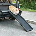Guardian Gear Portable Skid-resistant Black Plastic Vehicle Pet Ramp