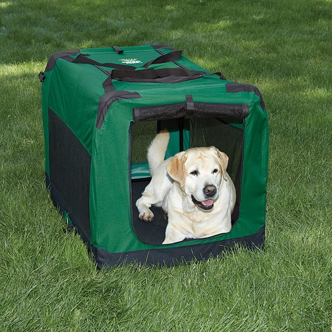 Guardian Gear Hunter-green Large Soft-sided Collapsible Crate