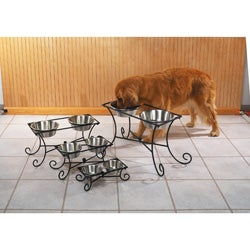 Pet Studio Wrought Iron Raised Diner
