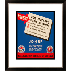 Gallery Direct Urgent - Volunteers Needed at Once! Framed Limited Edition Giclee